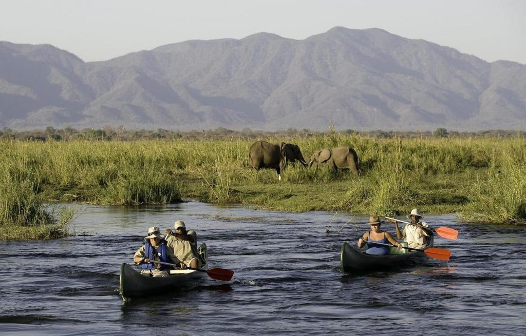 Arusha National Park Canoeing