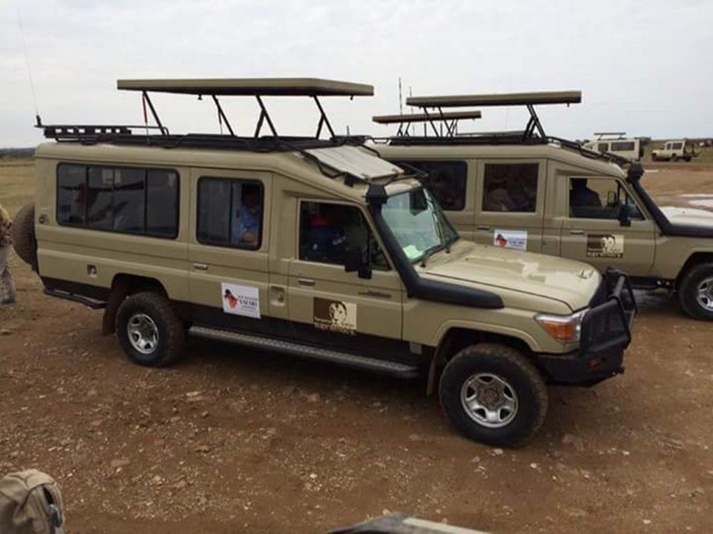 safari cars lake fleet