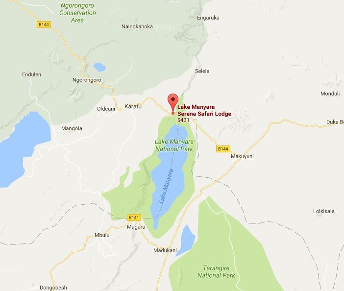 Lake Manyara Serena Location