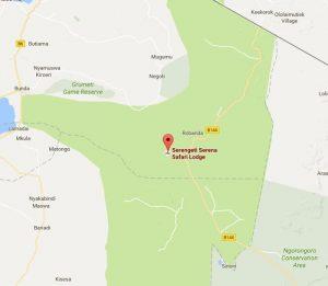 Serengeti Serena Location