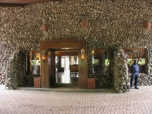 Ngorongoro Serena entrance