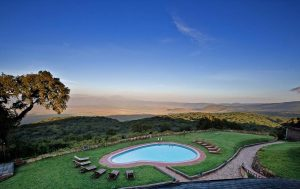 Ngorongoro Sopa lodge swimming pool