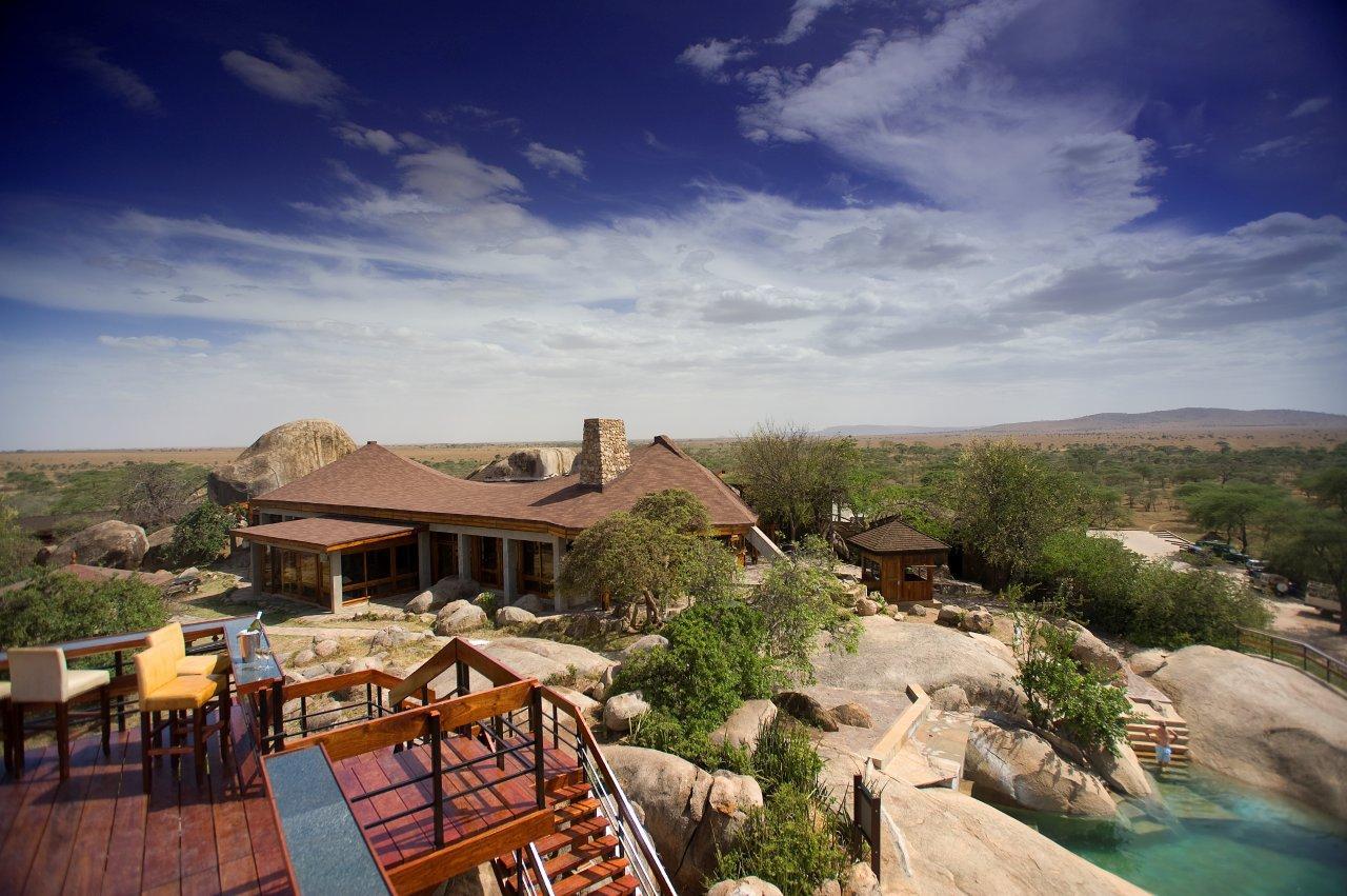 Seronera Wildlife Lodge Deck