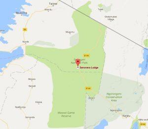 Seronera Wildlife Lodge location