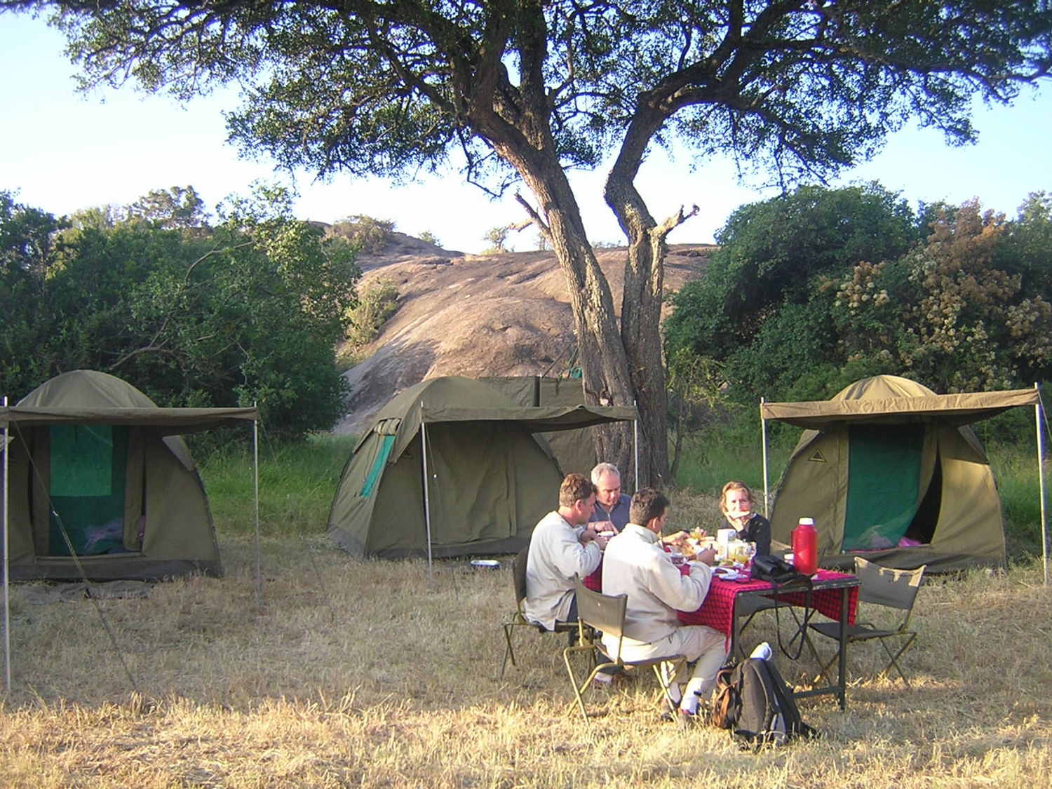 camping Tanzania safari Christmas offer