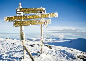 Kilimanjaro Climb Uhuru Peak