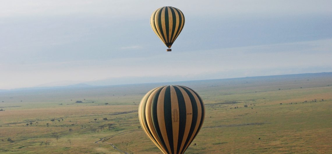 Hot Air Balloon Safari Ruaha