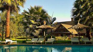 Arumeru River Lodge Pool Area