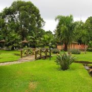 Arumeru river lodge lawns