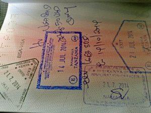 visa-tanzania-stamped