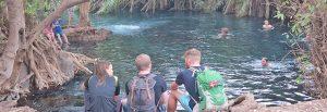 Kikuletwa maji moto hot water springs