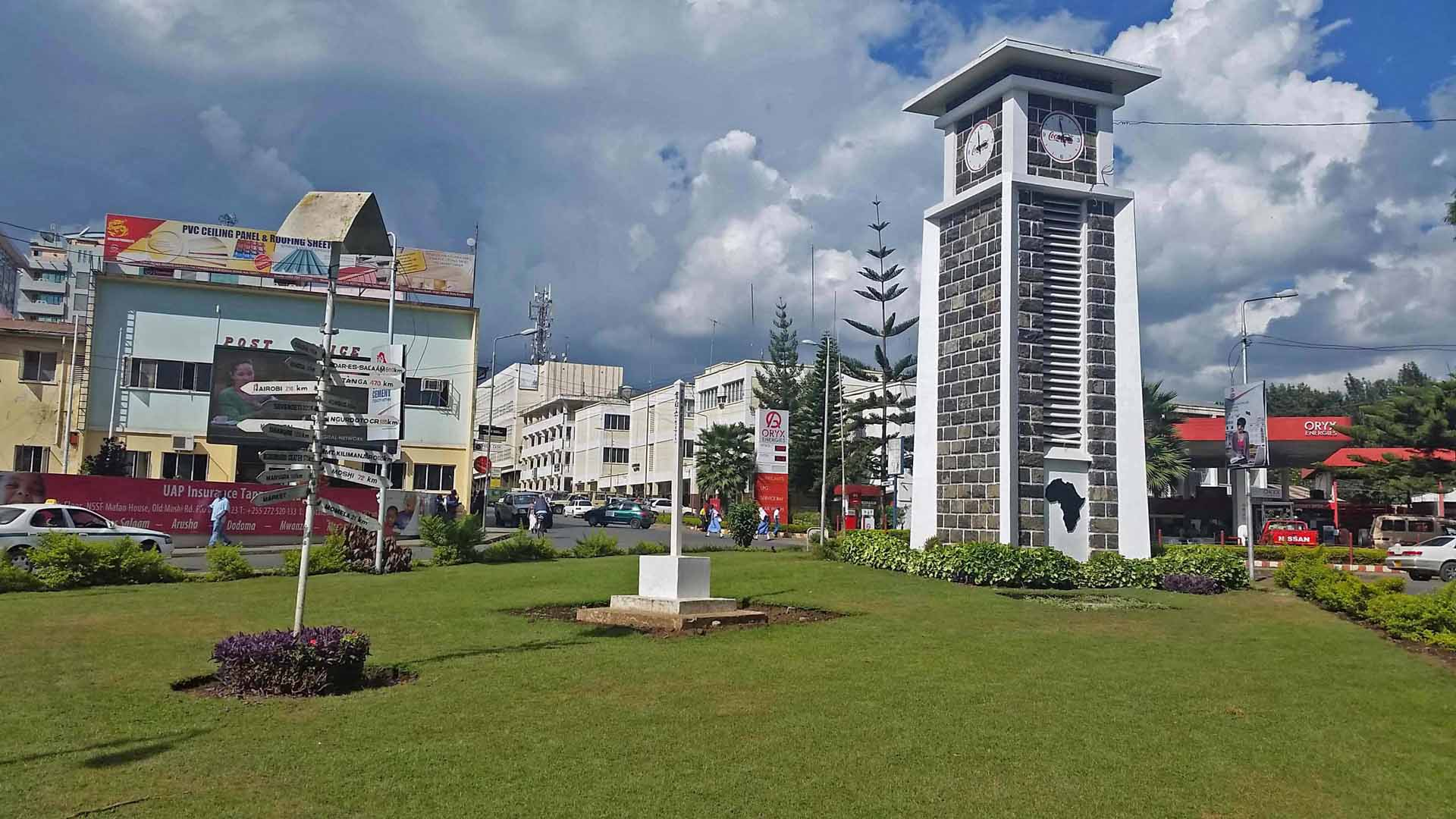 Arusha City Clock tower CBD