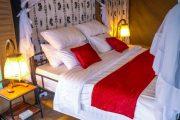 Osinon Serengeti Camp bed