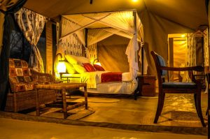 Osinon Serengeti camp Double room