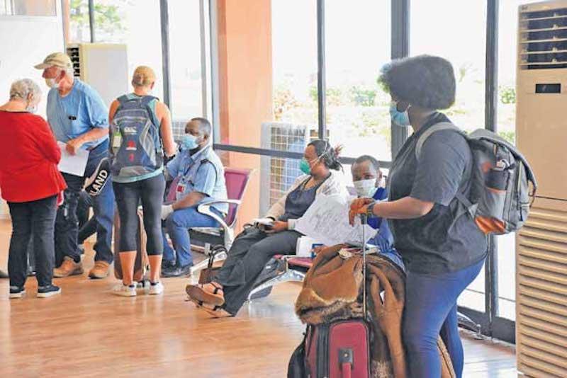 Arrival Tanzania Post Covid 19