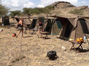 Budget Tanzania camping