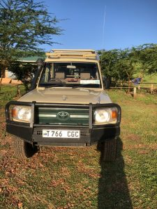Tanzania safari Jeeps